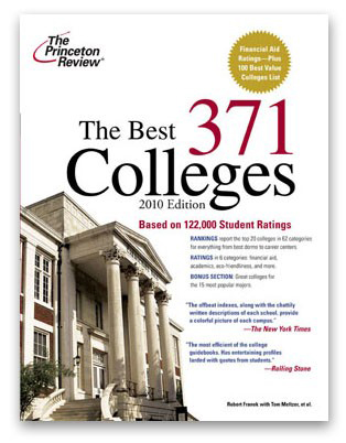 Youll be informed as well as entertained when you read the latest edition of The Best 371 Colleges.