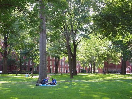 Harvard beat out Princeton this year for top academic honors.