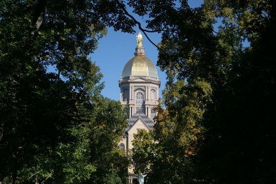 The University of Notre Dame was among the schools recently cited as being military friendly.
