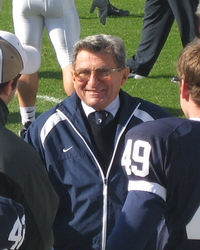 As the winningest coach of all time and 43 years at the helm of Penn State, what JoePa has to say commands a lot of attention. Whether the Big Ten will add a twelfth school as Paterno suggested may be a stretch, but given the possibilities one school could be an excellent fit.
