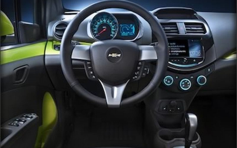 Colorful 2013 Chevrolet Spark Makes L.A. Debut
