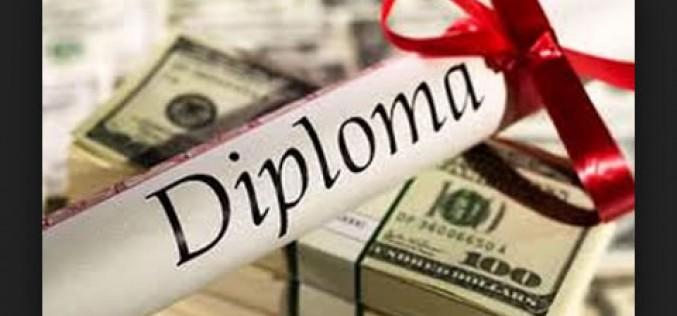 Diploma Mills and Fake Degrees